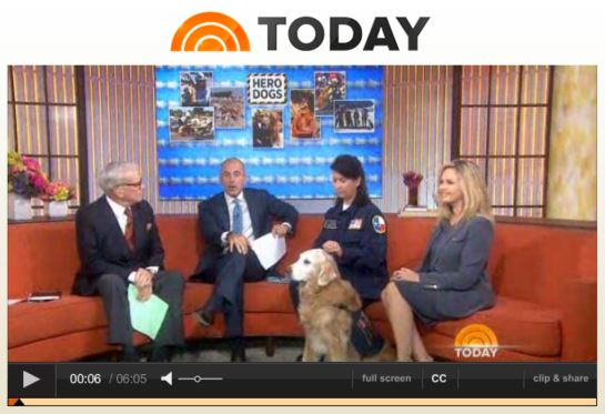 today show dog