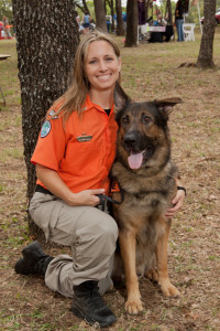 Laura Hennig, Search One Rescue Team, Police Magazine K9 article, Mission Manager