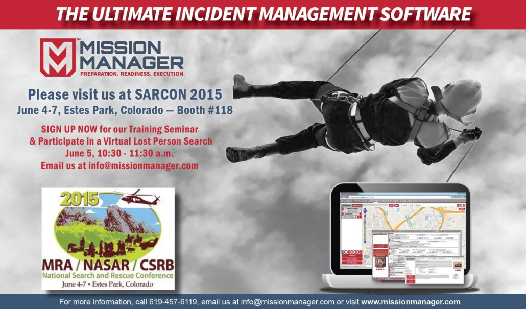 SARCON Evite - Mission Manager